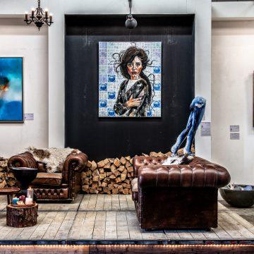 Kunstgalerie SHE Art Gallery detail foto Galerie Eindhoven