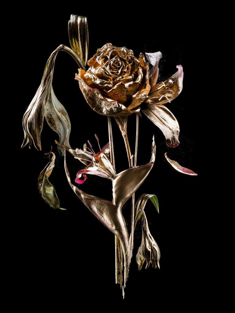 moderne kunst kopen Goud - foto by teis Albers SHE Art Gallery