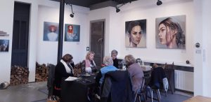 off-site vergaderen SHE Art Gallery Nuenen