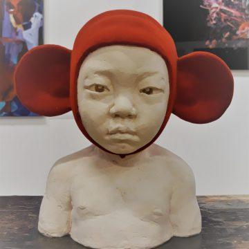 Claartje van Oosterum Toddler rood SHE Art Gallery