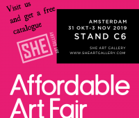Affordable Art Fair Amsterdam 2019 SHE Art Gallery